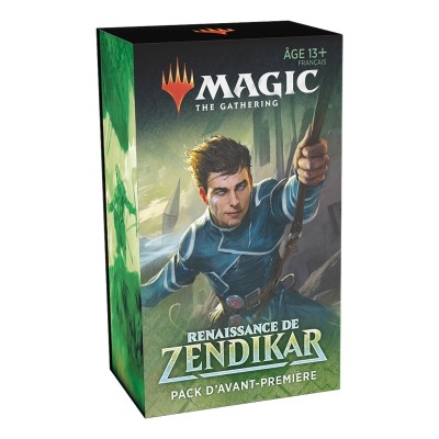 Booster Magic the Gathering Renaissance de Zendikar - Pack d'Avant Première