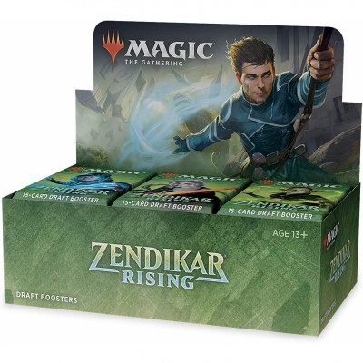 Boite de Boosters Magic the Gathering Zendikar Rising - 36 Draft Boosters