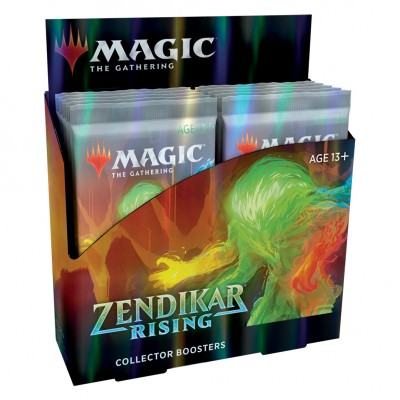 Boite de Boosters Magic the Gathering Zendikar Rising - 12 Collector Boosters