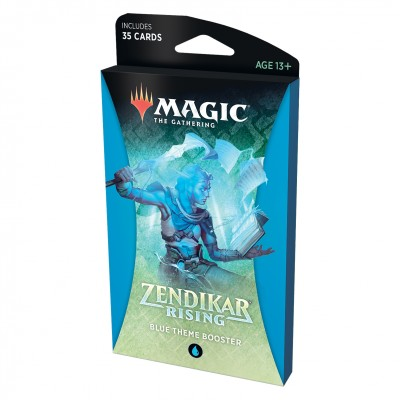 Booster Magic the Gathering Zendikar Rising - Theme Booster - Blue