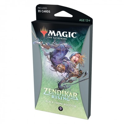 Booster Magic the Gathering Zendikar Rising - Theme Booster - Black