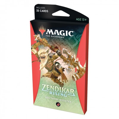 Booster Magic the Gathering Zendikar Rising - Theme Booster - Red
