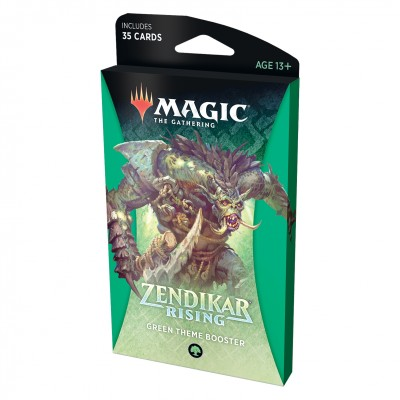 Booster Magic the Gathering Zendikar Rising - Theme Booster - Green