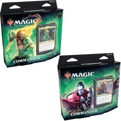 Decks Magic the Gathering Zendikar Rising - Commander - Lot de 2 différents