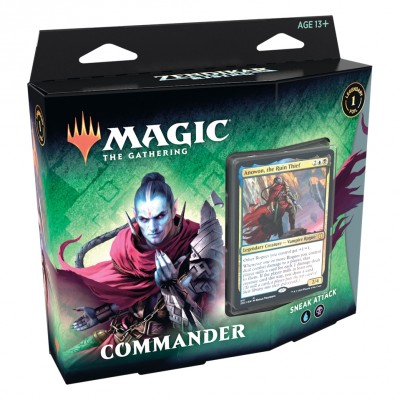 Deck Magic the Gathering Zendikar Rising - Commander - Sneak Attack