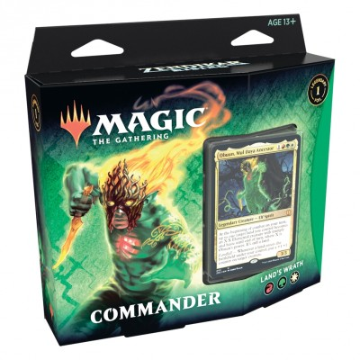 Deck Magic the Gathering Zendikar Rising - Commander - Land's Wrath