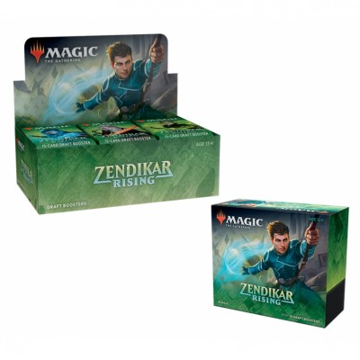 Offres Spéciales Magic the Gathering Zendikar Rising - Small Pack : Boite VO + Bundle VO