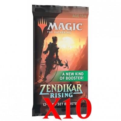 Boosters Zendikar Rising - Extension Booster - Lot de 10