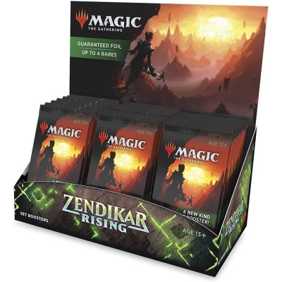 Boite de Boosters Magic the Gathering Zendikar Rising - 30 Set Boosters