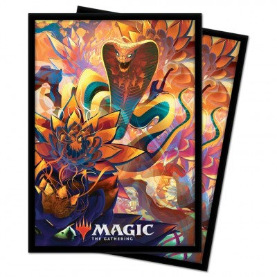 Protèges Cartes illustrées Magic the Gathering Renaissance de Zendikar - 100 pochettes - V5 - Cobra de Lotus