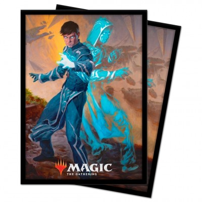 Protèges Cartes illustrées Magic the Gathering Renaissance de Zendikar - 100 pochettes - V1 - Jace