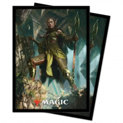 Protèges Cartes illustrées Magic the Gathering Renaissance de Zendikar - 100 pochettes - V3 - Nissa
