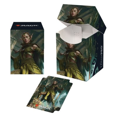 Boites de rangement illustrées Magic the Gathering Renaissance de Zendikar - Deck Box 100+ - V3 - Nissa