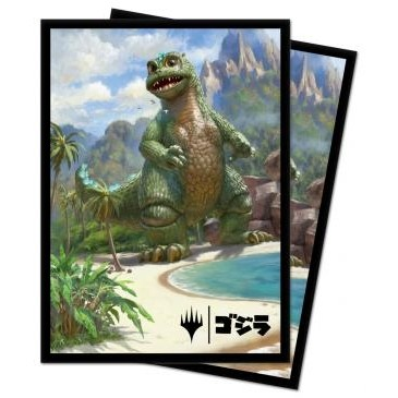 "Protèges Cartes illustrées Magic the Gathering ""Babygodzilla, Ruin Reborn"" 100 pochettes"