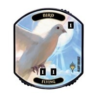 Relic Tokens Magic the Gathering Lineage collection - Bird (flying)