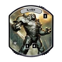 Relic Tokens Magic the Gathering Lineage collection - Karn