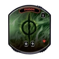 Relic Tokens Magic the Gathering Lineage collection - Poison