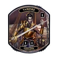 Relic Tokens Magic the Gathering Lineage collection - Vampire (lifelink)