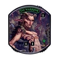 Relic Tokens Magic the Gathering Lineage collection - Elf Warrior FOIL