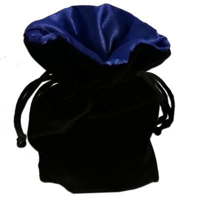 Dés  Sac à Dés - 15cm x 10cm - Intérieur Bleu (Vide)