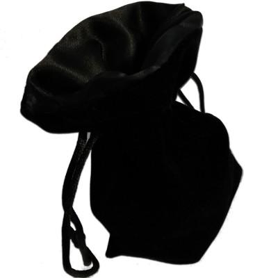Dés  Sac à Dés - 15cm x 10cm - Intérieur Noir (Vide)