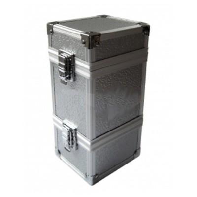 Boites de Rangements The Monolith - Combinable Full Metal Deck Box - Silver