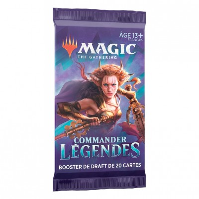 Booster Magic the Gathering Commander Légendes