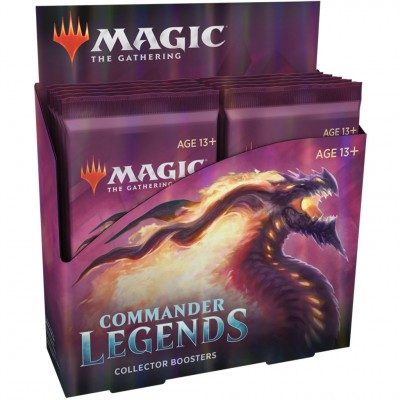 Boite de Boosters Magic the Gathering Commander Légendes - 12 Boosters Collector -