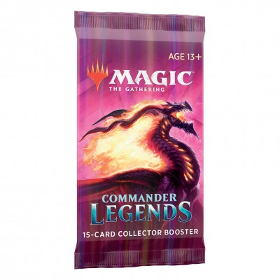 Booster Magic the Gathering Commander Légendes - Collector Booster