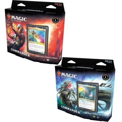 Deck Magic the Gathering Commander Légendes - Commander - Lot de 2 différents