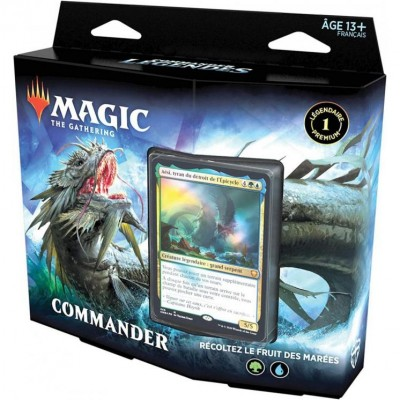 Deck Magic the Gathering Commander Légendes - Récoltez le fruit des marées #2
