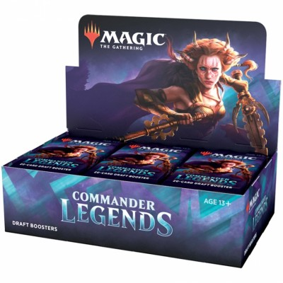 Boite de Boosters Magic the Gathering Commander Legends - 24 Draft Boosters