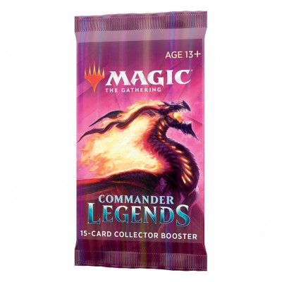 Boosters Commander Legends - Collector Booster