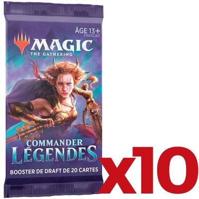 Boosters Magic the Gathering Commander Légendes - Lot de 10 Preview