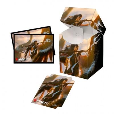 Boite de rangement illustrée Commander Legendes - Deck Box 100+ avec sleeves - V4 - Liesa, Shroud of Dusk