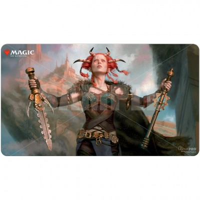 Tapis de Jeu Magic the Gathering Commander Legendes - Playmat - V2 - Jeska, Thrice Reborn