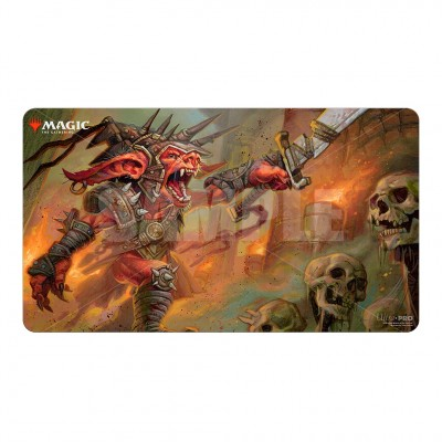 Tapis de Jeu Magic the Gathering Commander Legendes - Playmat - V5 - Rograkh, Son of Rohgahh
