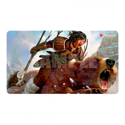 Tapis de Jeu Magic the Gathering Commander Legendes - Playmat - V9 - Tuya Bearclaw