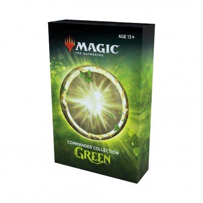 Coffret Magic the Gathering Commander Collection Green