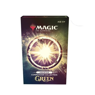 Coffret Magic the Gathering Commander Collection Green Premium