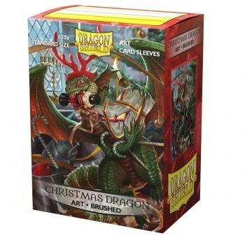 Protèges Cartes illustrées 100 pochettes - Christmas Dragon 2020