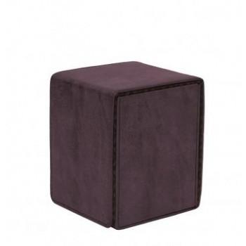 Boite de Rangement  Alcove Flip Box - Suede Collection - Amethyst