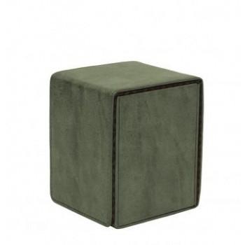 Boite de Rangement  Alcove Flip Box - Suede Collection - Emerald