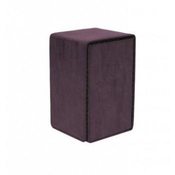 Boite de Rangement  Alcove Tower Suede Collection Deck Box - Amethyst