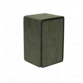 Boite de Rangement  Alcove Tower Suede Collection Deck Box - Emerald