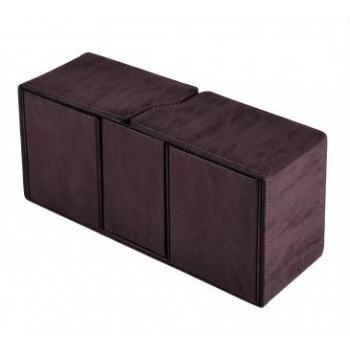 Boite de Rangement  Suede Collection Alcove Vault Deck Box - Amethyst
