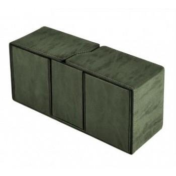 Boite de Rangement  Suede Collection Alcove Vault Deck Box - Emerald