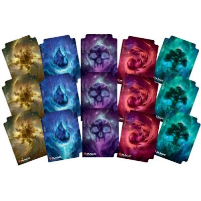 Boite de rangement illustrée Magic the Gathering Celestial Lands Divider Pack