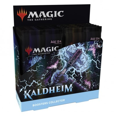 Boite de Boosters Magic the Gathering Kaldheim - 12 Boosters Collector