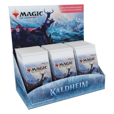 Boite de Boosters Magic the Gathering Kaldheim - 30 Boosters d'Extension